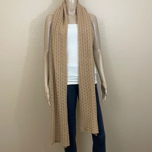 🌱 100% Cashmere Giant Knit Scarf